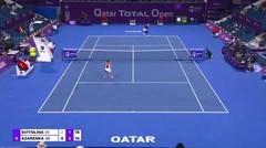 Match Highlights   Victoria Azarenka 2 va 0 Elina Svitolina   WTA Qatar Total Open 2021