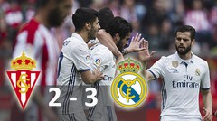 Sporting Gijon vs Real Madrid 2-3 (15-04-2017) - Highlights and All Goals - La Liga 2017 HD