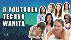 8 Youtuber Techno Wanita