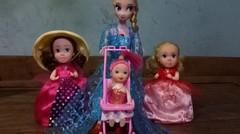 Unboxing Mainan Boneka Bayi - Frozen Elsa Punya Adek Baru