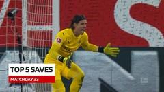 5 Saves Terbaik Bundesliga Pekan 23, Cek Torehan dari Kiper Borussia Monchengladbach, Yann Sommer