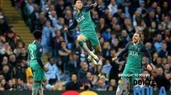Cuplikan Pertandingan Manchester City vs Tottenham Hotspur Leg 2 Babak Perempat Final Liga Champion - Dokter Bola