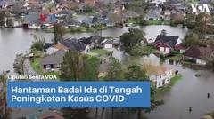 Hantaman Badai Ida di Tengah Peningkatan Kasus COVID