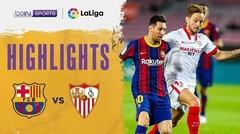 Match Highlight   Barcelona 1 vs 1 Sevilla   La Liga Santander 2020