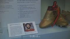 Sepatu Mohamed Salah Terima Perlakuan Bak Raja Mesir di Brit Museum