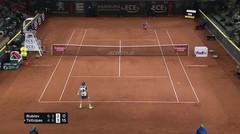 Match Highlight | Andrey Rublev 2 vs 1 Stefanos Tsitsipas | ATP Hamburg European Open 2020