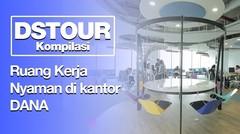 Ruang kerja Nyaman di Kantor Startup Indonesia - DStour Kompilasi