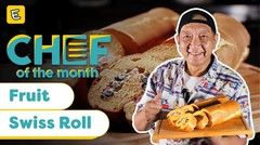 RESEP FRUIT SWISS ROLL - YONGKI GUNAWAN | #CHEFOFTHEMONTH SEPTEMBER'20 | ENDEUS.TV ⁣⁣
