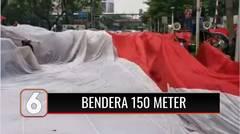 Rayakan Sumpah Pemuda, Federasi Serikat Pekerja Pertamina Bersatu Bentangkan Merah Putih Sepanjang 150 Meter | Liputan 6