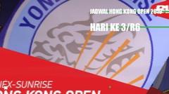 Bulutangkis - Jadwal Hong Kong Open 2019