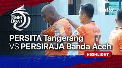 Highlights - Persita Tangerang 1 vs 1 Persiraja Banda Aceh   BRI Liga 1 2021/2022