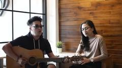 Uap Widya feat. Rijja - Butiran Debu (Cover)