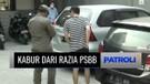 Kabur Saat Razia Protokol Kesehatan, Pengendara Mobil Ini Tabrak Seorang Anggota TNI