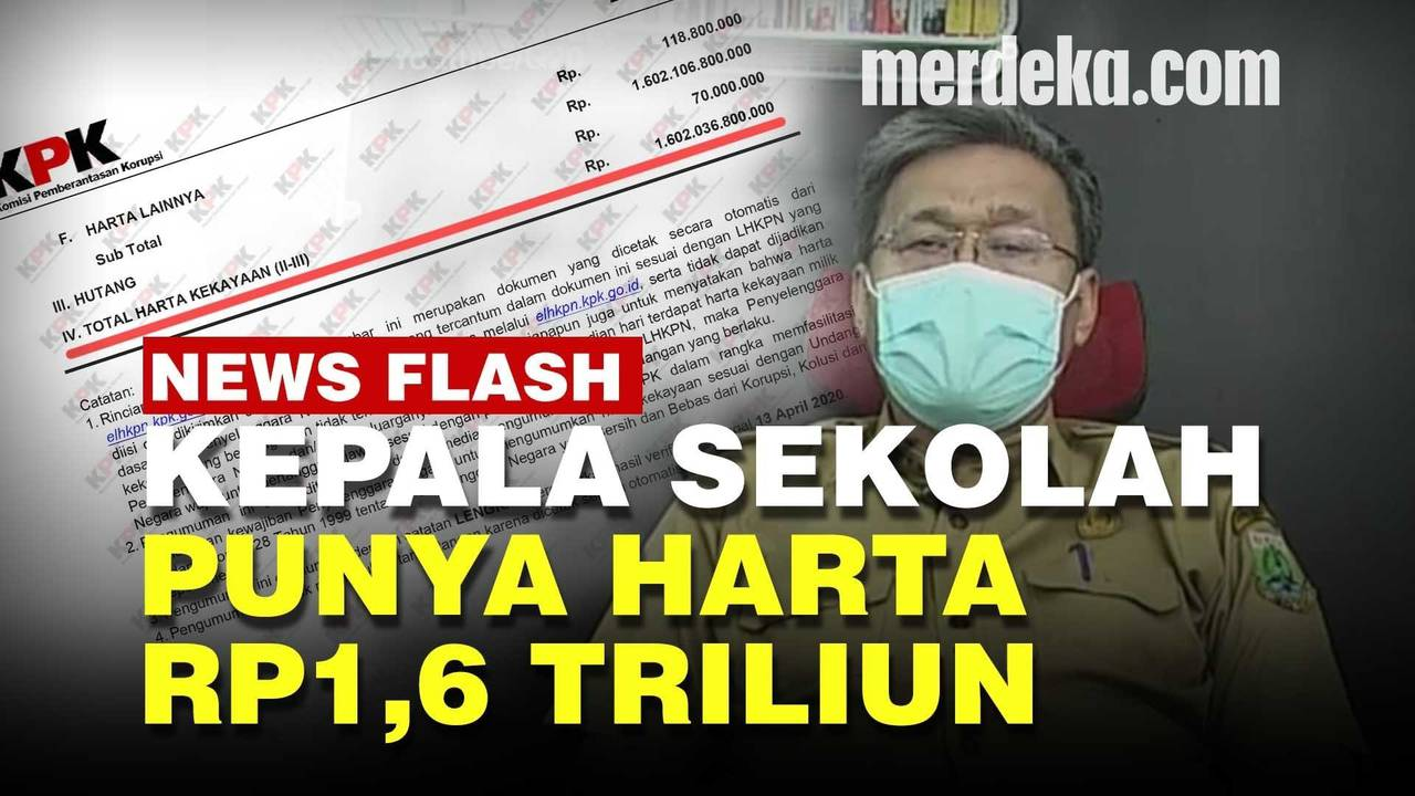 Kepala Sekolah Super Kaya Raya Hartanya Rp1,6 Triliun, Punya Tanah 80.000