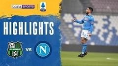 Match Highlights | Sassuolo 3 vs 3 Napoli | Serie A 2021
