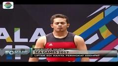 Lifter Edi Kurniawan Belum Berhasil Tambah Medali di Hari Terakhir Sea Games 2017 - Fokus Malam
