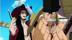 Pertarungan Roronoa Zoro dengan Mata Elang
