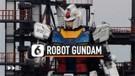Melihat Gerakan Perdana Robot gundam 18 Meter di Jepang