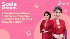 Penampakan Rumah 5 Seleb yang Dinikahi Anggota TNI dan Polri, Mewah Banget!