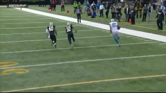 Eric Ebron's 54-yard Catch-and-Run sets up Burton's 4-yard TD catch | Lions vs. Saints