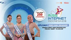 Audisi Online Miss Internet Indonesia 2018
