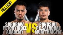 Sorgraw vs. Pongsiri PK | ONE Championship Full Fight