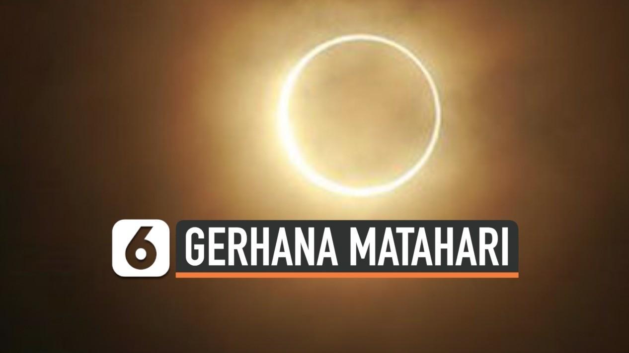 Gerhana Matahari Cincin Rajai Trending Topic