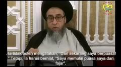 Fiqih Puasa Menurut Madzhab Ahlul Bait (as) [Bag. 1]