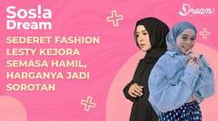 Sederet Fashion Lesty Kejora Semasa Hamil, Harganya Jadi Sorotan