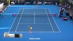 Match Highlight | Ashleigh Barty 2 vs 1 Danielle Collins | WTA Adelaide International 2020