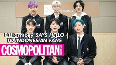 P1Harmony Says Hello to Indonesian Fans