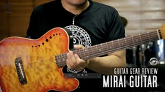 TODAY's GEAR - MIRAI GUITAR by Gitaragam