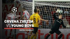 Full Highlight - Crvena Zvezda VS Young Boys | UEFA Champions League 2019/2020