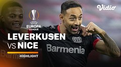 Highlight - Leverkusen vs Nice I UEFA Europa League 2020/2021