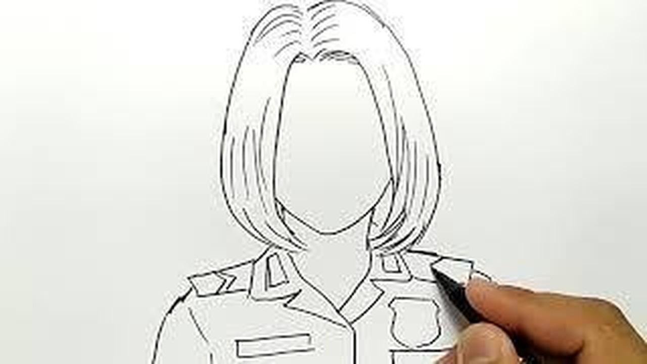 Streaming Cantik Banget Cara Menggambar Polisi Wanita Vidio