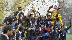 Cuplikan Pertandingan Perancis vs Kroasia - Final Piala Dunia 2018 Rusia - Dokter Bola