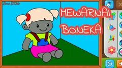 Belajar Menggambar dan Mewarnai Boneka lucu Untuk Anak TK dan PAUD#7
