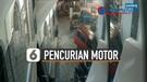 Viral Pencurian Motor di Halaman Masjid