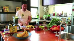 How to Make a Delicious Vegetable Smoothie - Raw Foods & Smoothies
