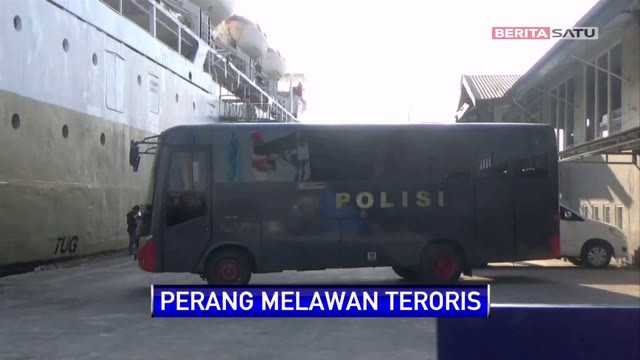28 Terduga Teroris Dari Kalteng Tiba Di Semarang