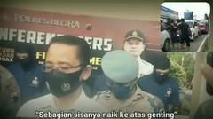 Ini Dia Tampang Gerombolan Perampok Sadis yang Videonya Viral Saat Dibekuk Polisi