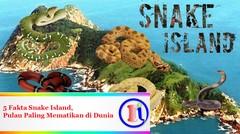 5 Fakta Snake Island, Pulau Paling Mematikan di Dunia