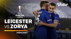 Highlight - Leicester City vs Zorya Luhansk I UEFA Europa League 2020/2021