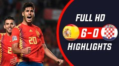 Spanyol vs Kroasia 6-0 - Goals & Highlights (Uefa Nations League)