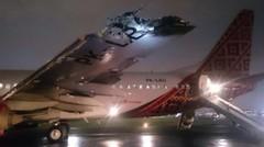 Inilah Detik - Detik Pesawat Batik Air Terbakar