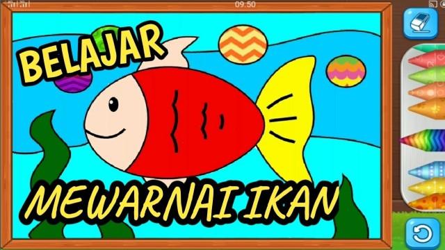 Streaming Belajar Menggambar Dan Mewarnai Ikan Lucu Ayo Belajar Dan Bermain Untuk Anak Tk Dan Paud 4 Vidio