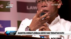 Masinton Pasaribu: Hormati Lembaga Survei yang Terdaftar di KPU
