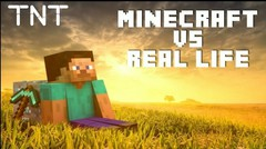 Minecraft VS Real Life - TNT