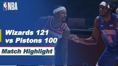 Match Highlight   Washington Wizards 121 vs 100 Detroit Pistons   NBA Regular Season 2020/21
