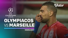 Highlight - Olympiacos VS Marseille I UEFA Champions League 2020/2021